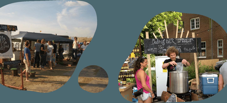Brewing at festivals